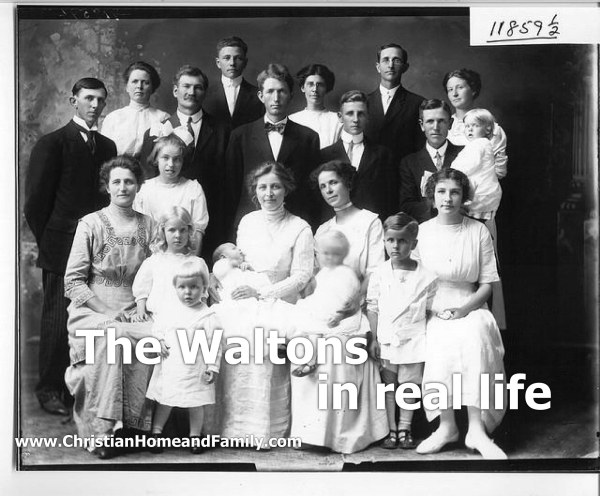 the waltons in real life