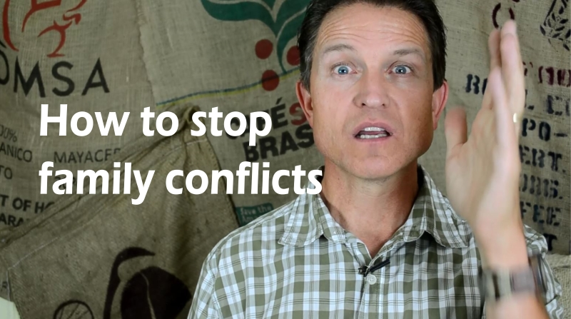 how to stop family conflict