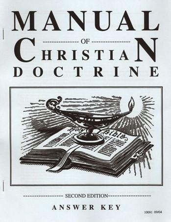 Christian Liberty Press Manual of Christian Doctrine
