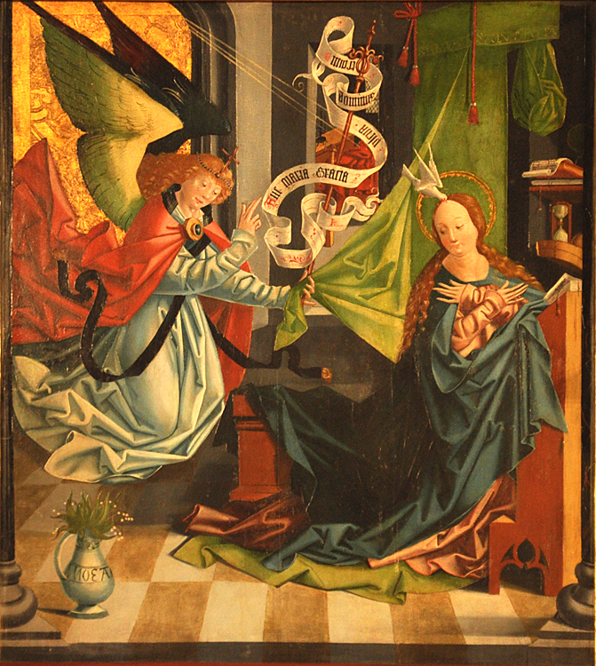 the annunciation in art