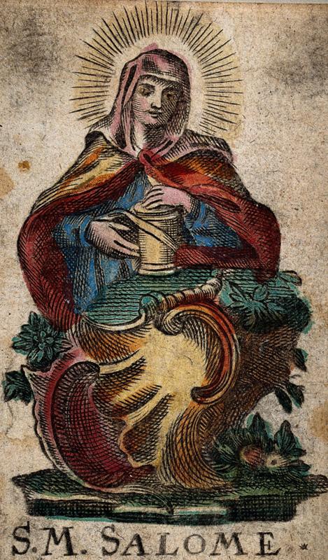 3 août : Sainte Salomé (Nouveau Testament)  SalomeEtchingWellcome