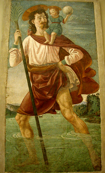 Image result for image of st christopher