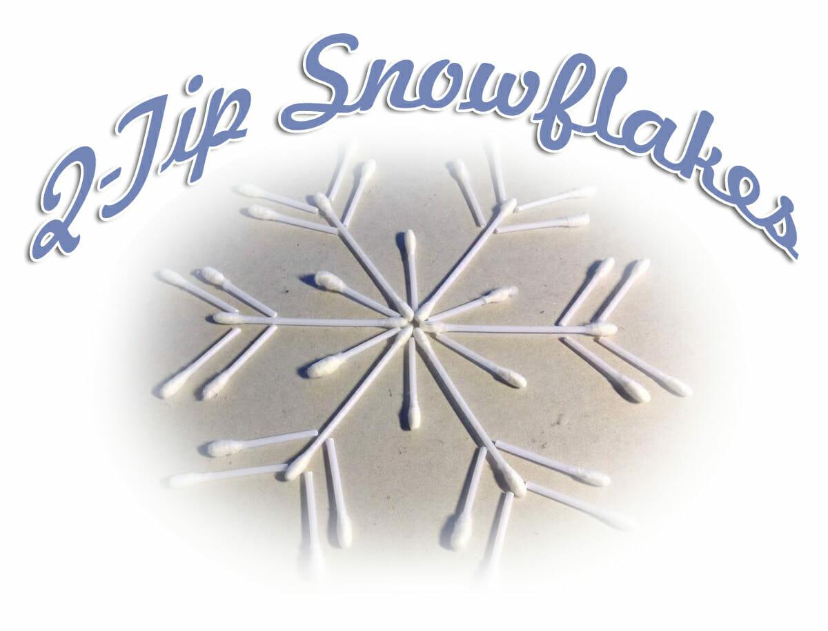 Snowflake Winter Bible Craft