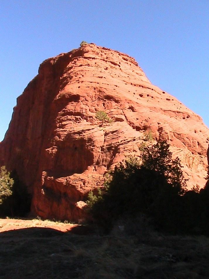 Jemez Springs red rock