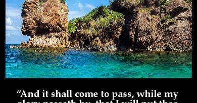 Bible Verse Photo: Exodus 33:22