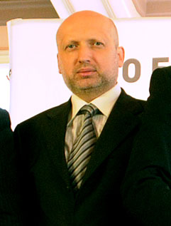 Acting President Turchynov was elected to Parliament in 1998