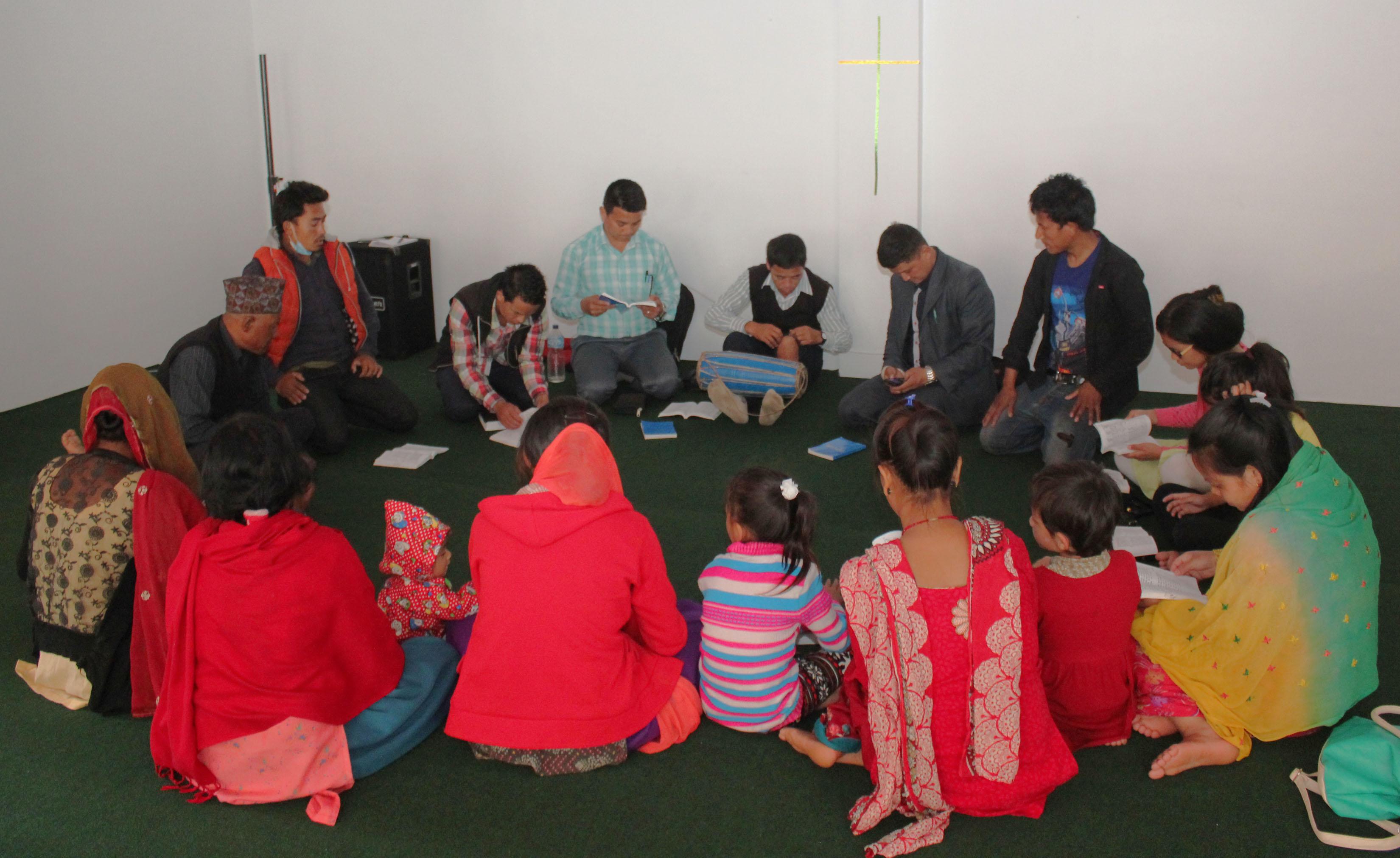 Family of Maila Tamang mourns Saturday.