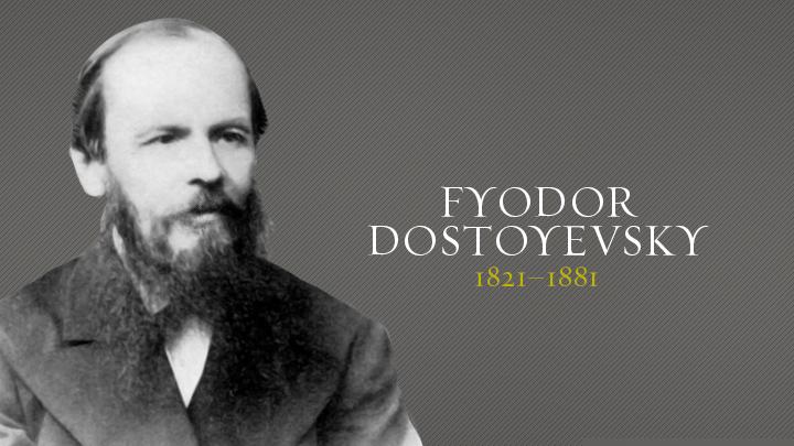 Αποτέλεσμα εικόνας για Fyodor Dostoyevsky