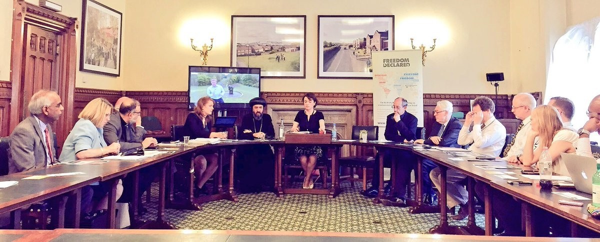 The All-Party Parliamentary Group on International Freedom of Religion or Belief unveiled their report today.