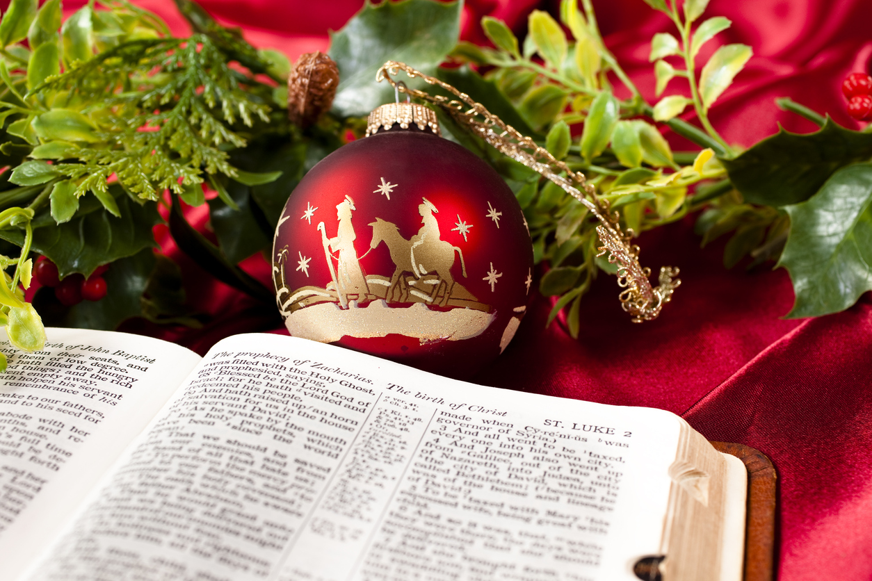 7 Christmas Bible Verses To Give The Holidays Meaning