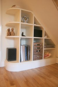 Under Stairs Shelves - Home Design Jobs