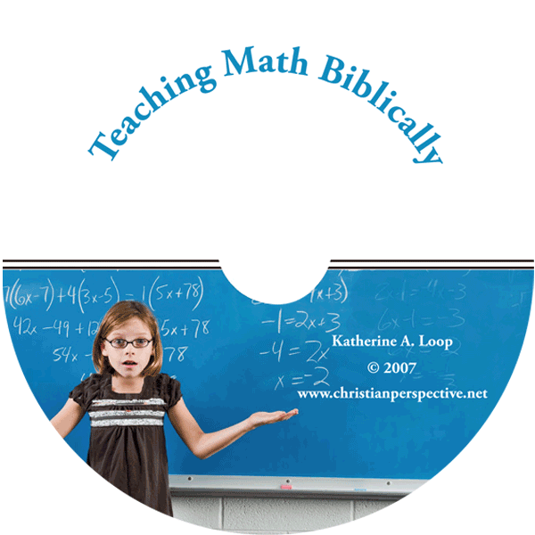 Teaching Math Biblically CD