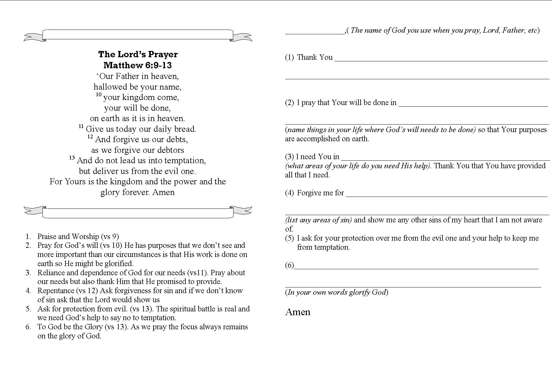 Kids Sunday School Printable