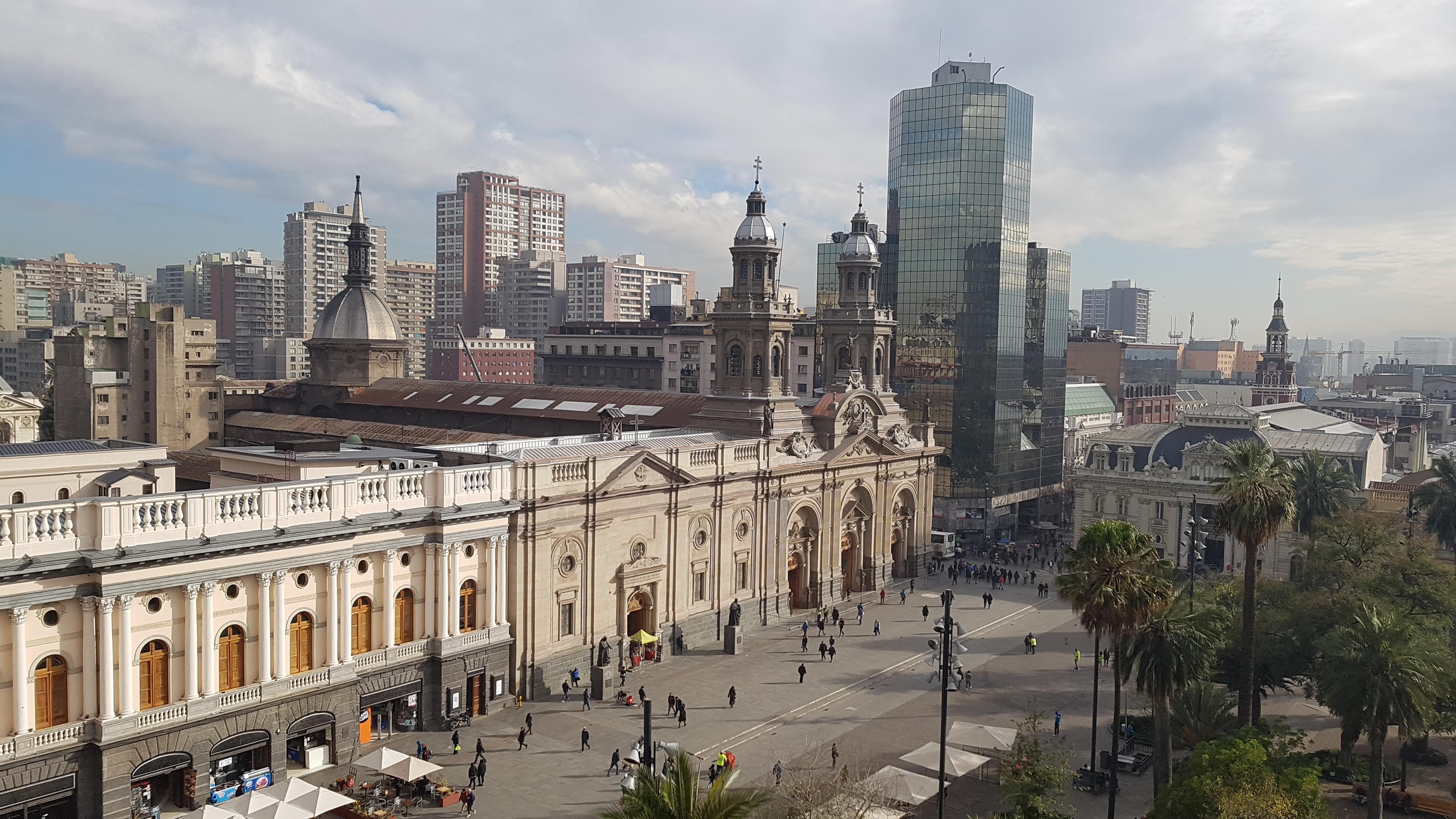 Santiago del Cile, il primo giorno
