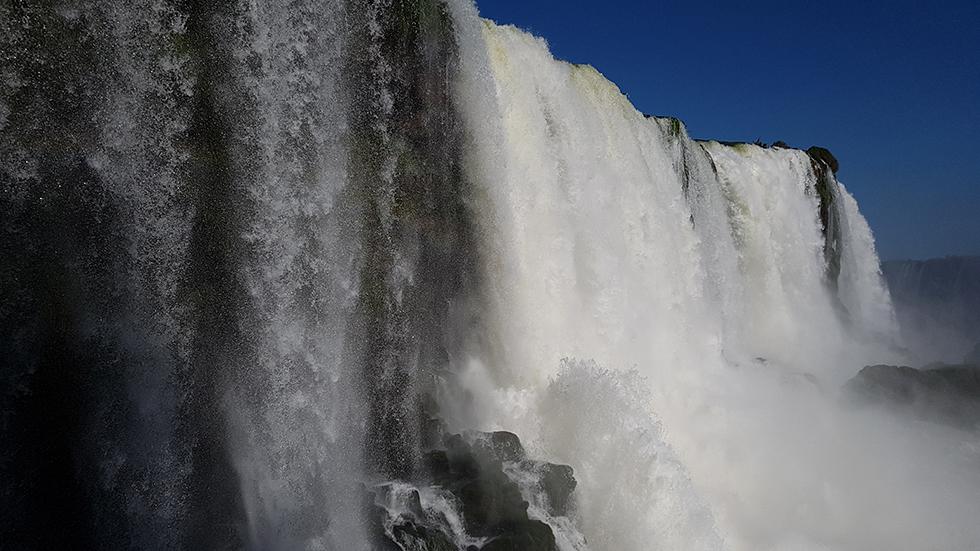 Cascate di Iguazu, lato brasiliano, giorno 19