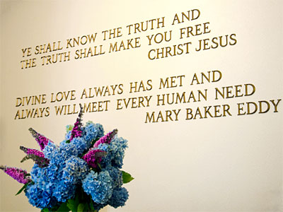 Divine Love quote by Mary Baker Eddy
