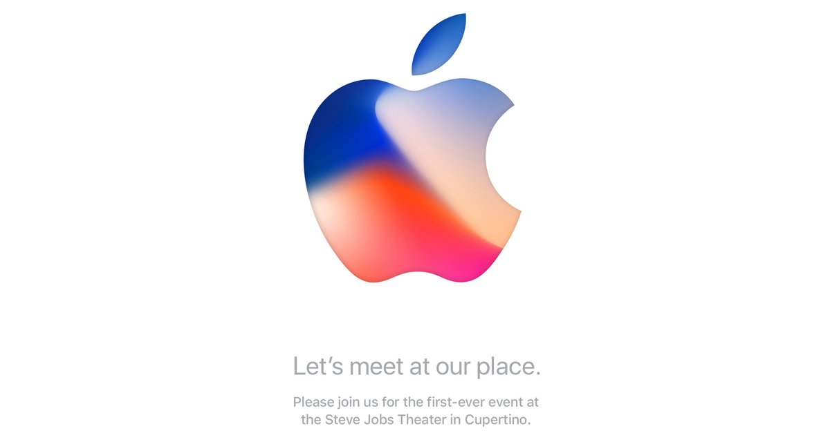 Apple's iPhone 8 event invitation