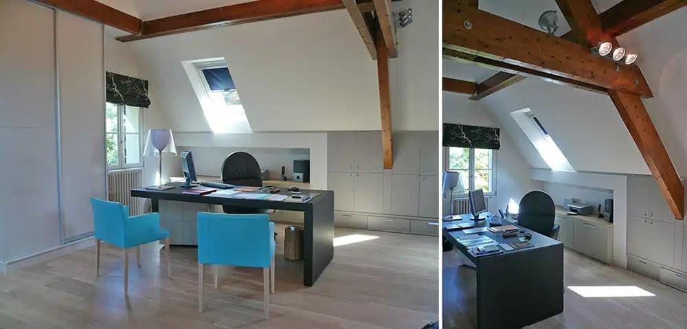 Cration Dun Home Office Le Vesinet Yvelines