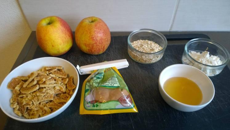 Appel crumble - ingredienten