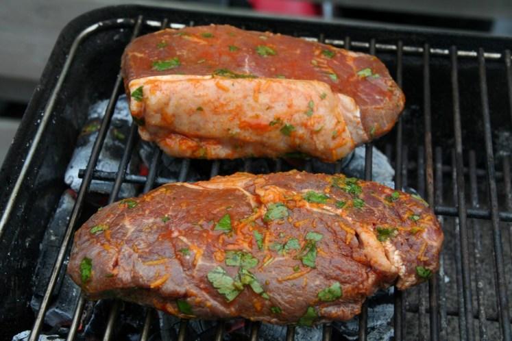 Spanish style steak - BBQ