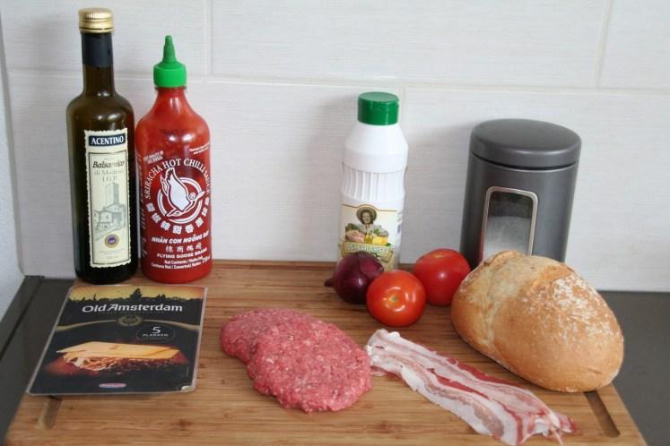 Old Burger - Ingredienten