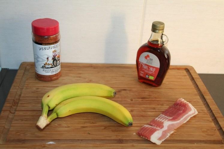 Bacon wrapped banana - Ingredienten