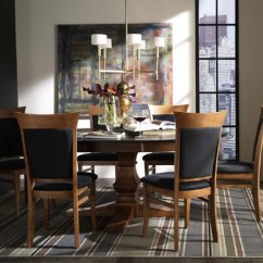 Pedestal Table And Chairs Best Theater Room Dining Rooms – Christianson Furniture