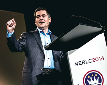 Russell Moore serves as president of the Ethics and Religious Liberty Commission. (Photo ©Rocket Republic)