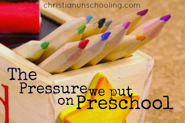 pushing preschool