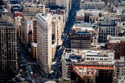 Amerika Reisen: Flatiron, New York City