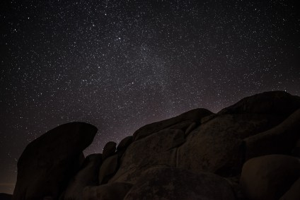 Stars as seen from Joshua Tree National Park