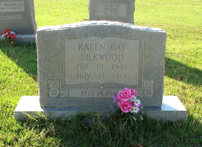 Karen Silkwood Grave Site