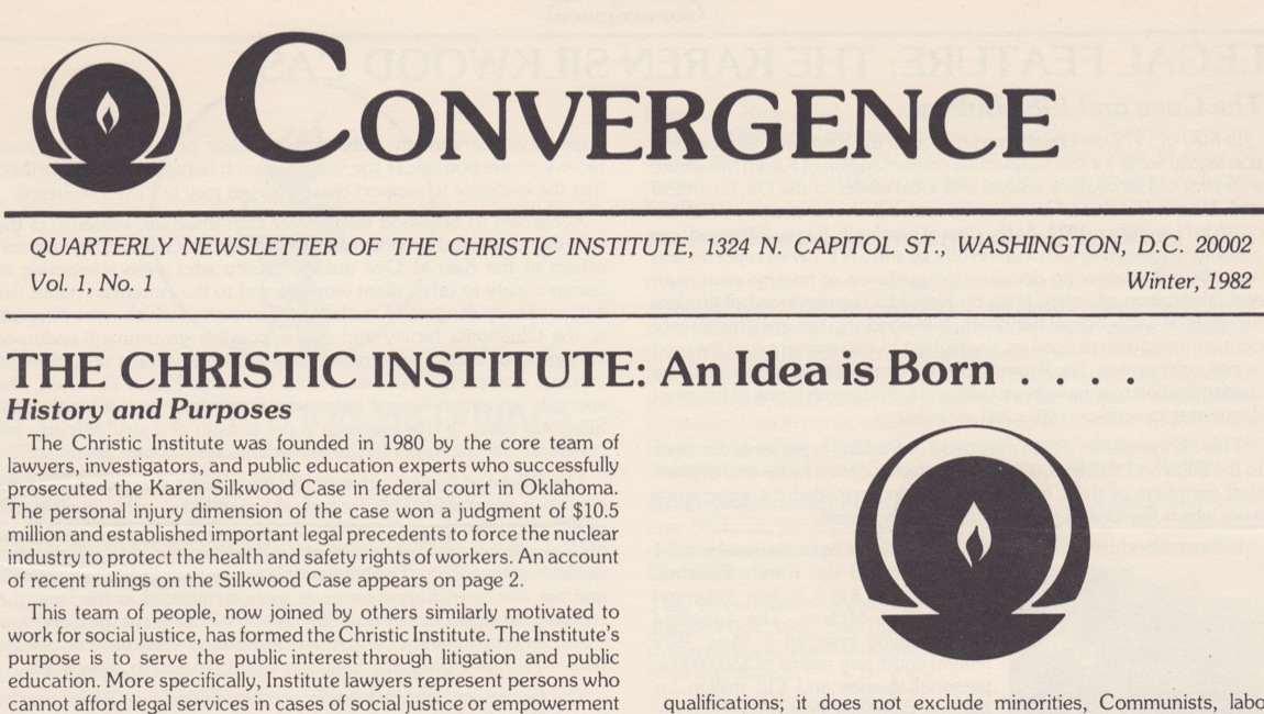 Convergence Newsletter