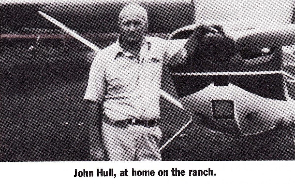 John Hull on his ranch in Costa Rica