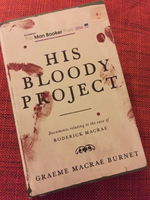 HIs Bloody Project Book Cover