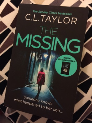 Book Review – The Missing, C L Taylor