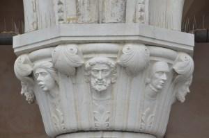 Venice - pillar
