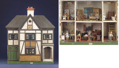high chair on sale cover rentals las vegas a lines brothers dolls' house made for hamleys | christie's