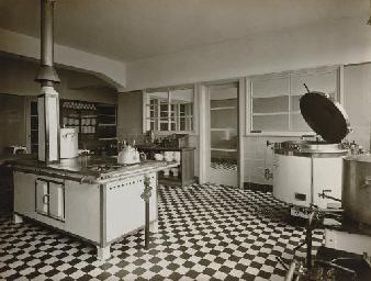 WERNER MANTZ 19011983  Untitled Industrial kitchen