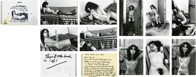 HELMUT NEWTON 19202004  A Book of Violetta  Paris August 19791997  Christies