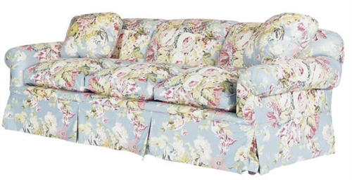 new sofa for sale soho the range a three-seat floral chintz upholstered sofa, , modern ...