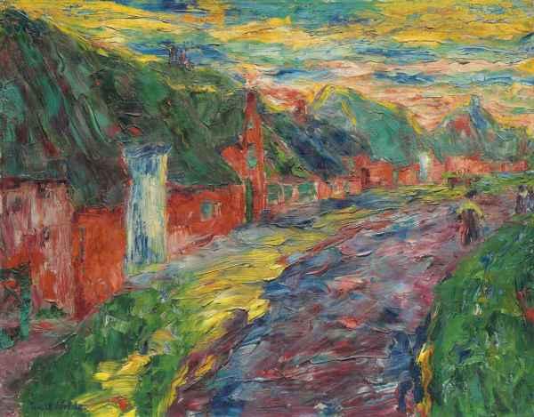 Emil Nolde 1867-1956 Friesenhuser Ii Christie'