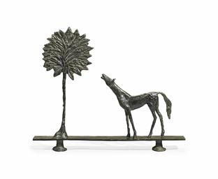 Diego Giacometti (1902-1985) , Paysage: La promenade des