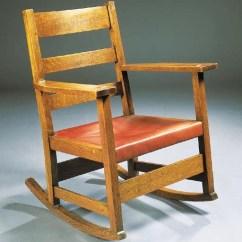 Stickley Leopold Chair For Sale Fix Sinking Office An Oak L J G Rocking Model No 803 Christie S