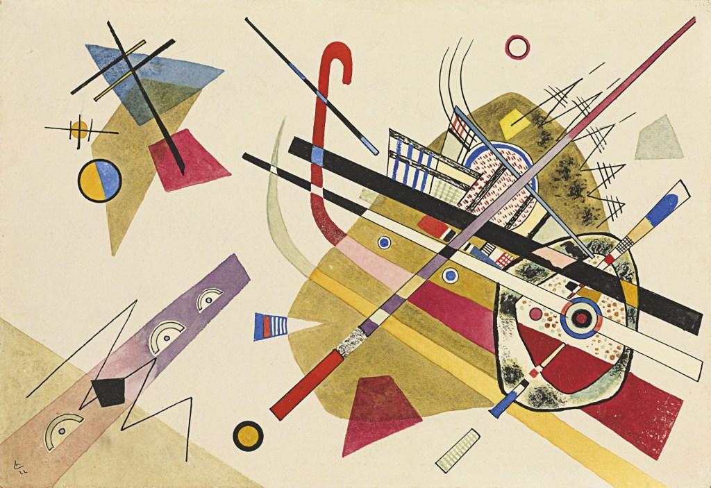 """Wassily Kandinsky, """"Ohne Titel"""" via Christie's"""