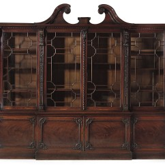 Chinese Chippendale Chairs Uk Rocker X Gaming Chair How To Spot A Genuine Piece By Thomas Christie S George Iii Mahogany Breakfront Bookcase 1764 109 In 278 Cm High 133 340 Wide 23 58 5 Deep
