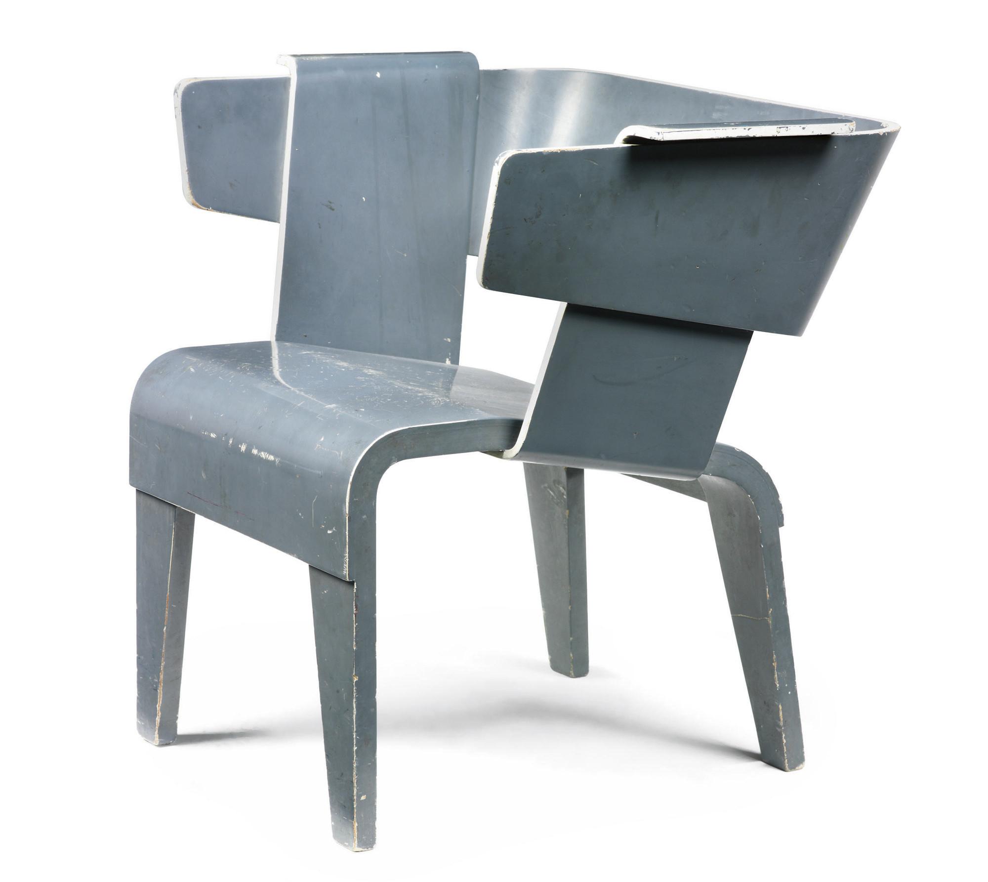 gerrit thomas rietveld chair front door 1888 1964 danish 1946 50