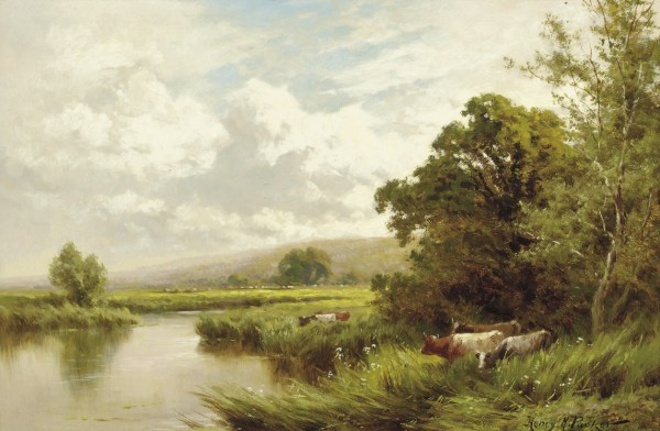 Henry Hillier Deacon Parker 1858-1930 Lea