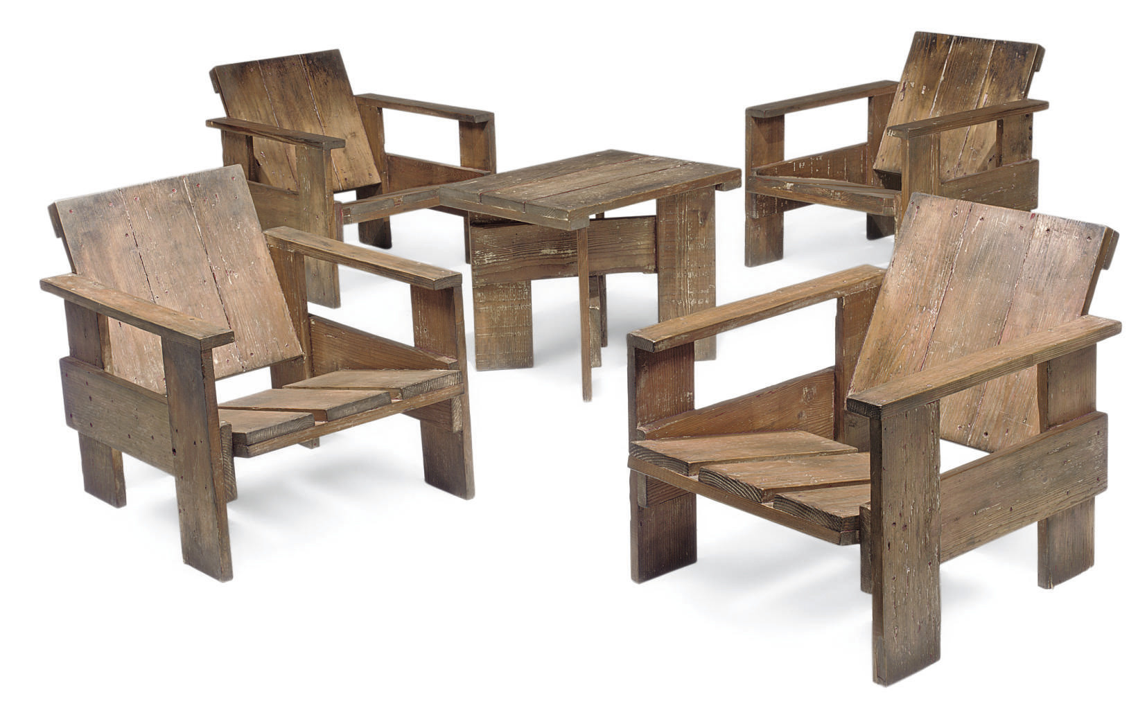gerrit rietveld crate chair lounge chairs nz suite of 39crate 39 furniture 1934