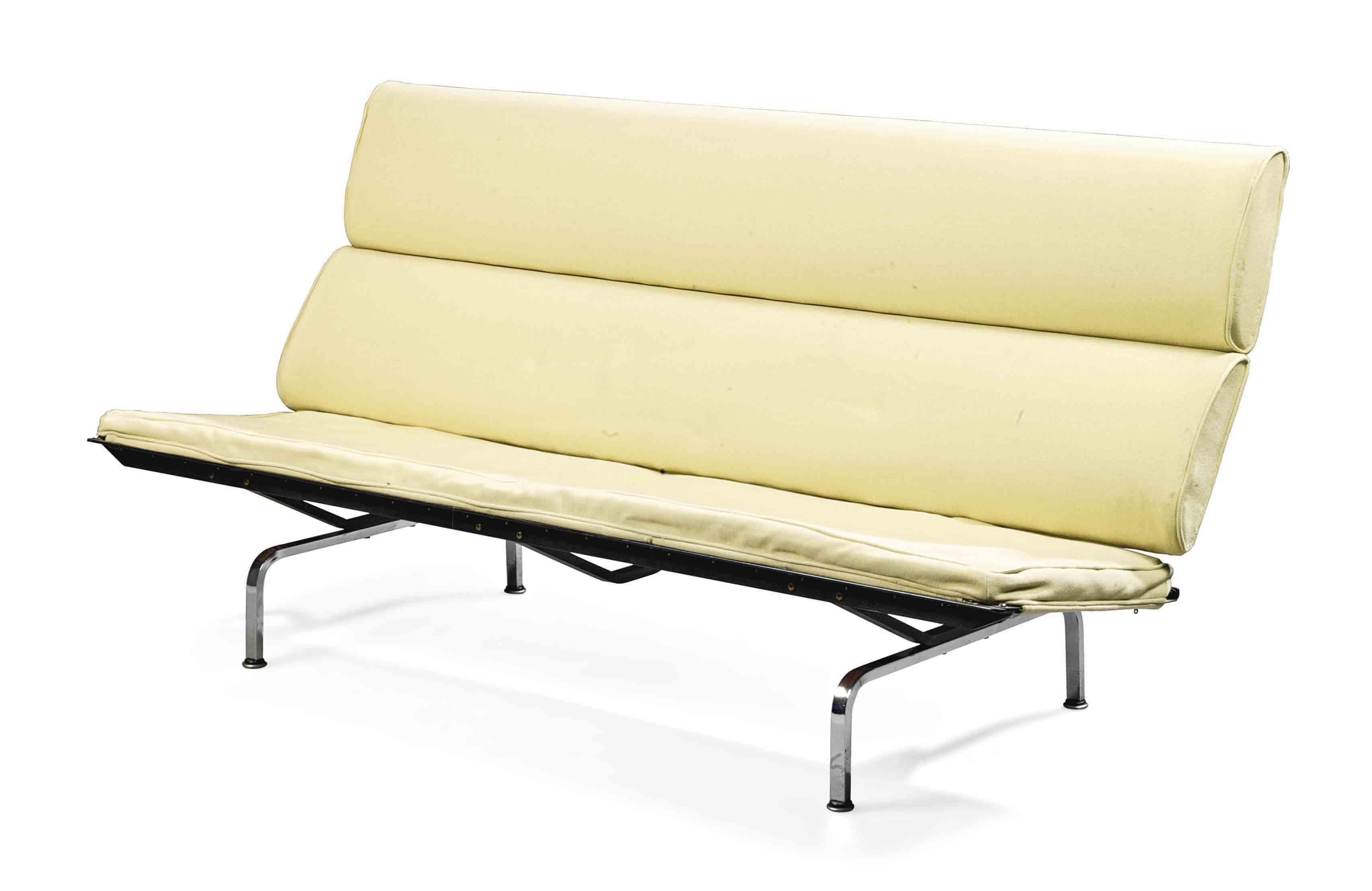eames sofa compact knockoff white chesterfield with crystals a charles and ray 39sofa 39 designed 1954